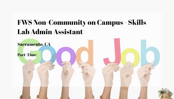 Fws Non Community On Campus Skills Lab Admin Assistant Chamberlain