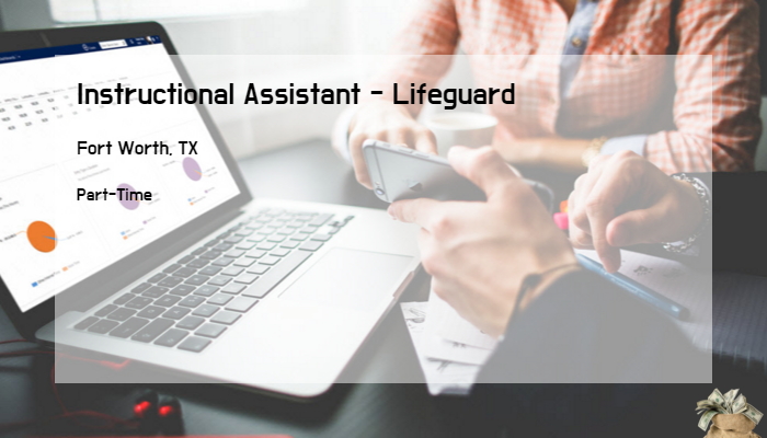 Instructional Assistant Lifeguard Tarrant County College Fort