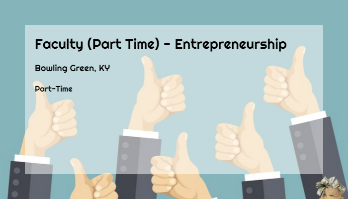 Faculty Part Time Entrepreneurship Western Kentucky University