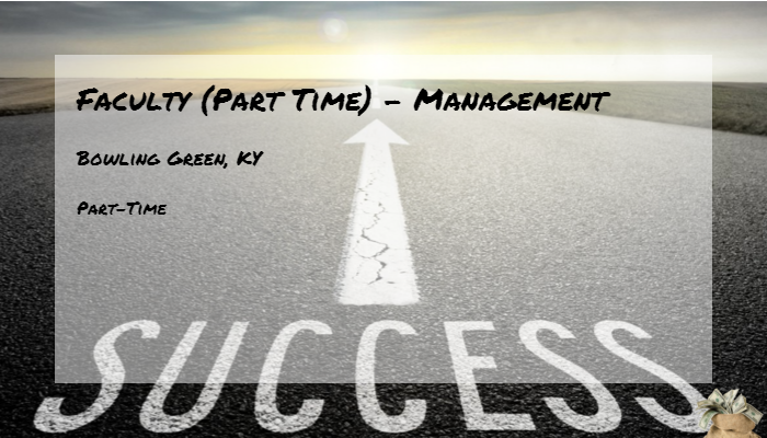Faculty Part Time Management Western Kentucky University Bowling