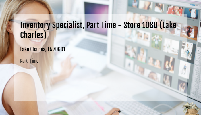 Inventory Specialist Part Time Store 1080 Lake Charles Best Buy