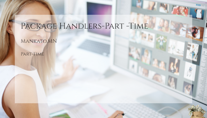 Package Handlers Part Time United Parcel Service Mankato Mn Part