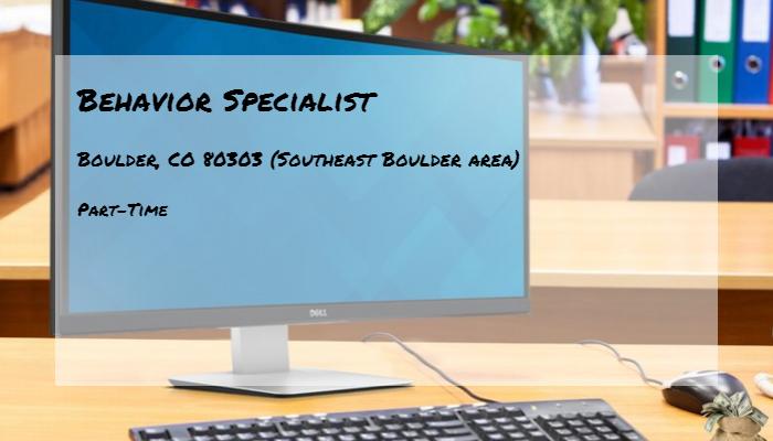 Behavior Specialist Mental Health Partners Boulder Co 80303