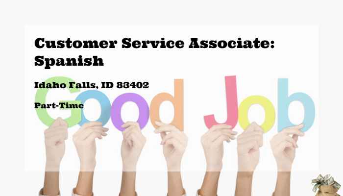 Customer Service Associate Spanish Melaleuca Idaho Falls Id 83402