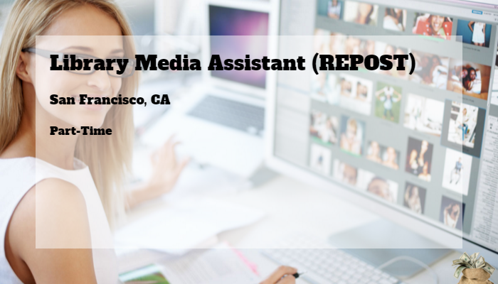 Library Media Assistant Repost The South San Francisco Unified