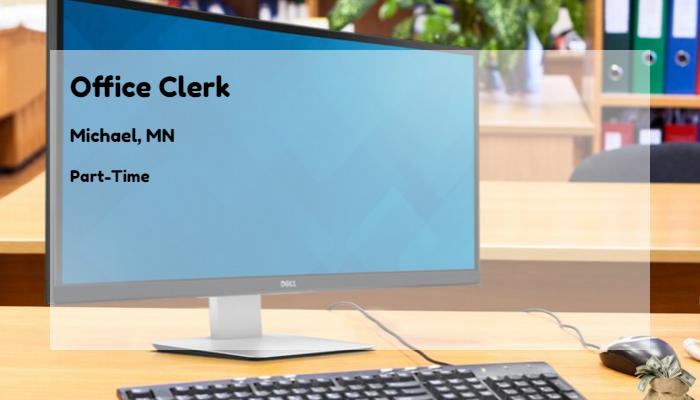 Office Clerk Robert Half International Michael Mn Part Time Jobs