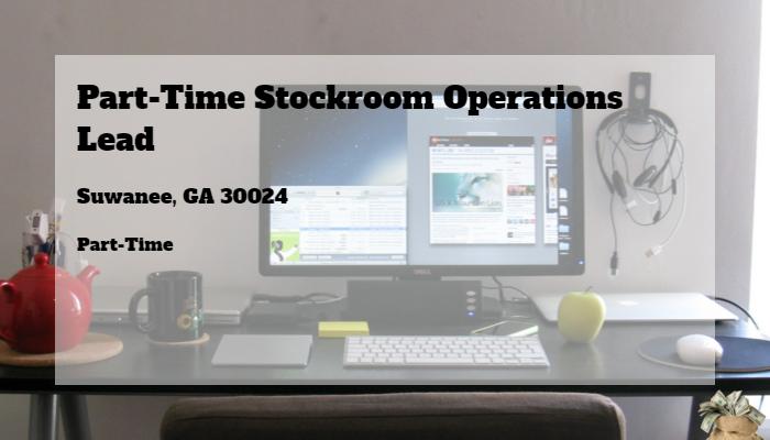 Part Time Stockroom Operations Lead Kohls Suwanee Ga 30024 Part