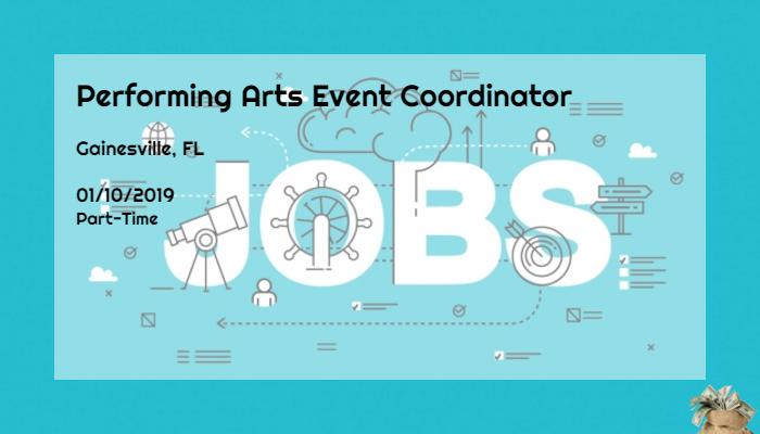 event coordinator jobs