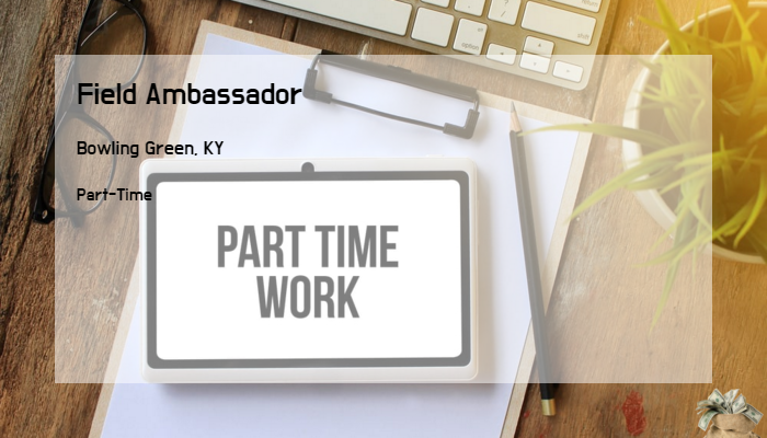 Field Ambassador Teamfca Bowling Green Ky Part Time Jobs 2019