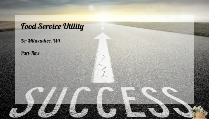 Food Service Utility Compass Group Dr Milwaukee Wi Part Time Jobs