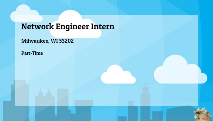 Network Engineer Intern Quarles Brady Milwaukee Wi 53202 Part