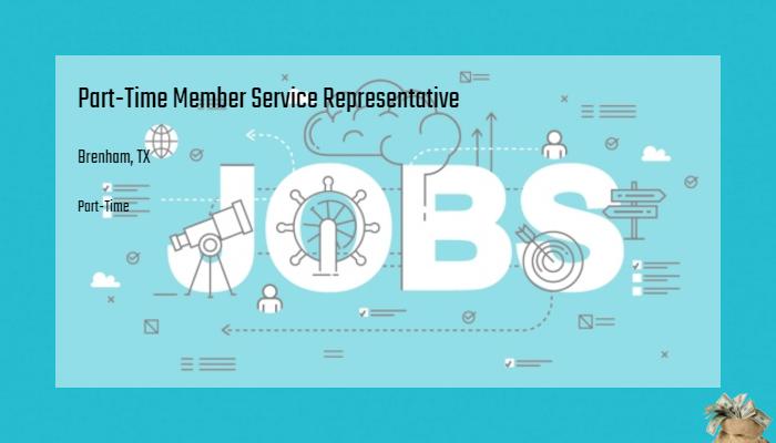 Part Time Member Service Representative Acu Of Texas Brenham Tx