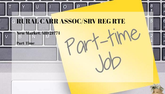 Rural Carr Assoc Srv Reg Rte United States Postal Service New Market