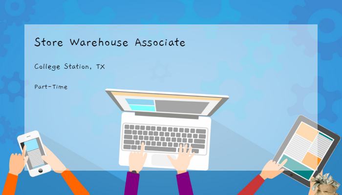 Store Warehouse Associate Dsw Inc College Station Tx Part Time