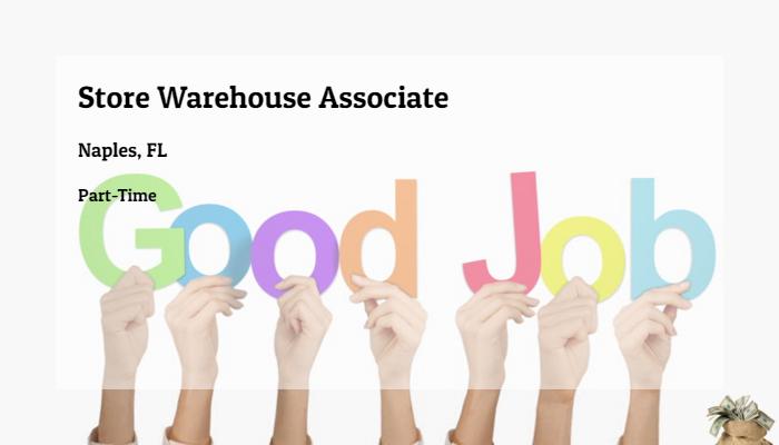 Store Warehouse Associate DSW, Inc. Naples, FL