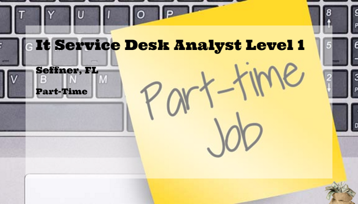 It Service Desk Analyst Level 1 Rooms To Go Seffner Fl Part Time