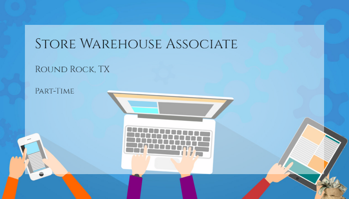 Store Warehouse Associate Dsw Inc Round Rock Tx Part Time Jobs