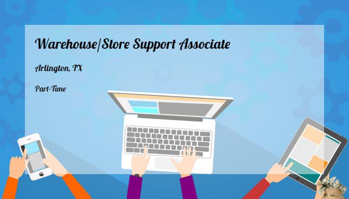 Warehousestore Support Associate Kmart Arlington Tx Part Time