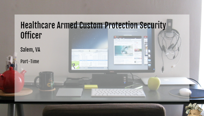 healthcare armed custom protection security officer g4s