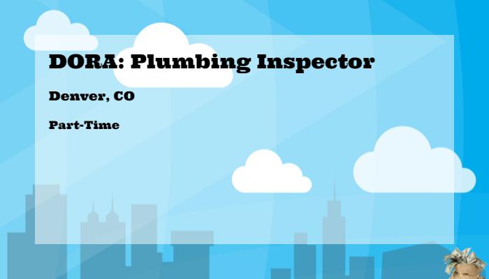 State Plumbing Jobs