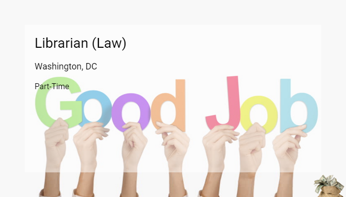 Librarian law us department of the interior washington - Us department of the interior jobs ...