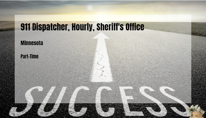 911 Dispatcher, Hourly, Sheriff's Office Stearns County