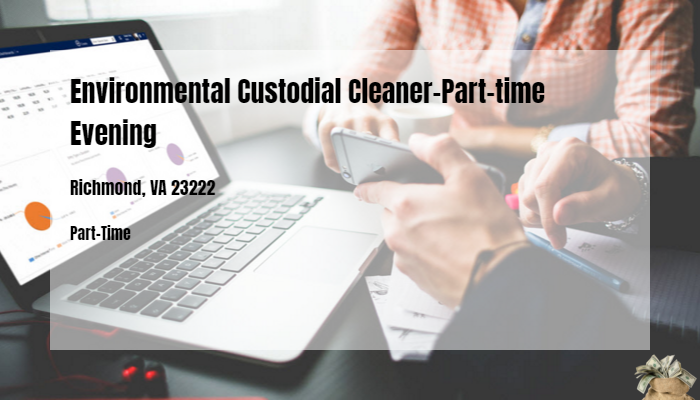 Environmental Custodial Cleaner-Part-time Evening Kleane Kare