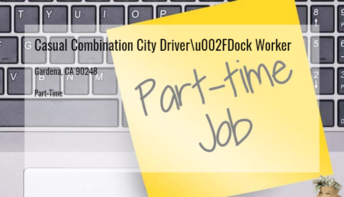 Casual Combination City Driver/Dock Worker YRC Freight