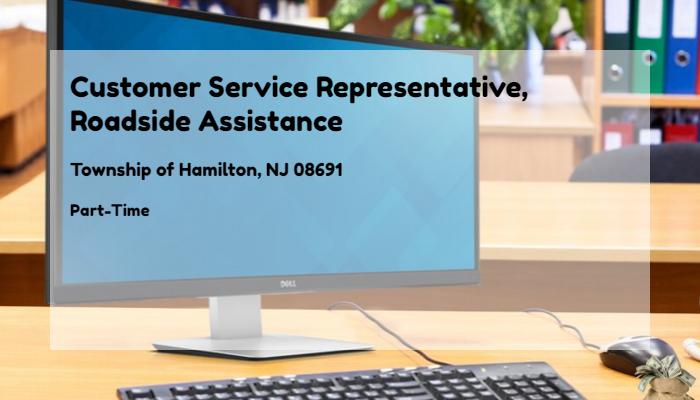 Customer Service Representative, Roadside Assistance AAA