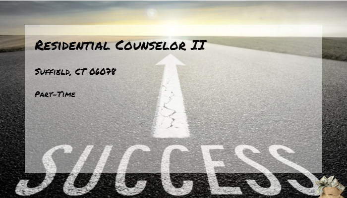 Residential Counselor II Vinfen Suffield, CT 06078 - Part