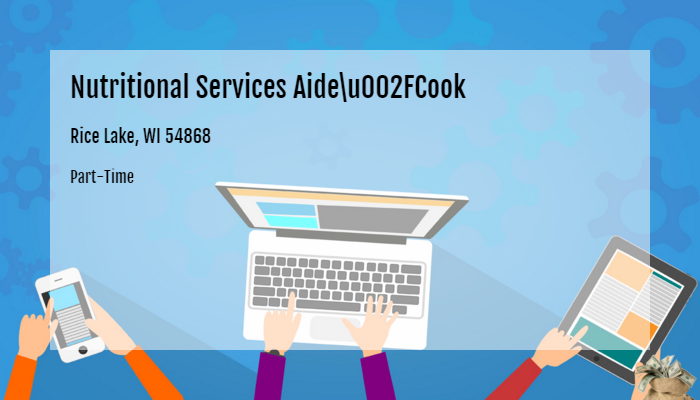 Nutritional Services Aide/Cook Dove
